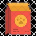 Pet Feed Paw Icon