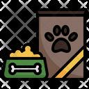 Pet Food Pet Bowl Dog Icon