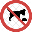 Pet food not allowed Icon