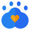 Pet Friendly Love Icon