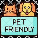 Pet Friendly Area Icon