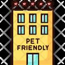 Pet Friendly Motel Exterior Icon