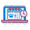 Pet Grooming Appointment Icon
