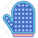 Pet Grooming Glove Icon