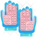 Pet Grooming Gloves Icon