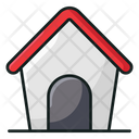 Animal Barn Pet House Pet Hut Icon