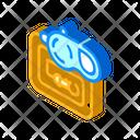Pet Leash Isometric Icon