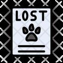 Lost Pet Report Icon