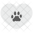 Pet Love Heart Icon