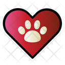 Love Paw Veterinary Icon