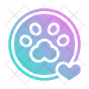 Paw Footprint Print Icon