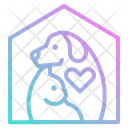 Pet Dog House Icon