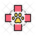 Medical Cross Pet Icon