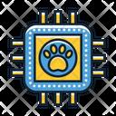 Pet Microchip Icon