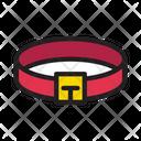 Belt Buckle Dog Icon