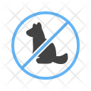 Pet Not Sign Icon