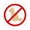 Not Allowed Pet Icon