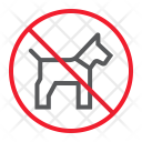 Pet not allowed Icon