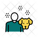 Dog Owner Color Icon
