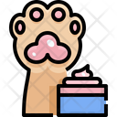 Pet Paw Cream Icon