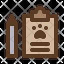 Pet Resgistration Icon