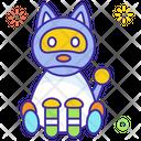 Pet Robot Cat Robot Robot Icon