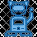Pet Robot Architecture Intelligen Icon