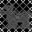 Pet Robot Pet Robot Robotic Dog Icon