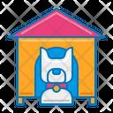 Pet Service Pet House Dog House Icon