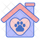 Pet Shelter Pet House Animal Shelter Icon
