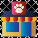 Pet Shop Store Pet Supplies Icon