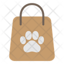 Paper Bag Paw Animal Icon