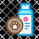 Dog Care Spray Icon