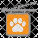 Pet Store Sign Veterinary Icon