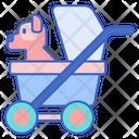 Ipet Stroller Pet Stroller Pet Trolley Icon
