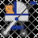 Pet Stroller Icon
