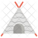Pet Teepee Tubik Tent Icon