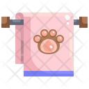 Pet Towel Icon