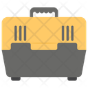 Pet Travel Crate Carrier Carry Box Icon