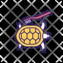 Pet Turtle Home Treatment Icon