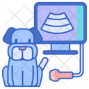 Pet Ultrasound Icon
