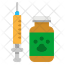 Vaccine Vet Medical Icon