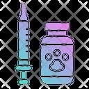 Vaccine Vet Medical Icon