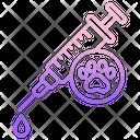 Pet Vaccine Icon