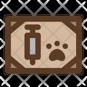 Pet Vaccine Certificate Icon