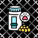 Pet Vitamins Pill Icon