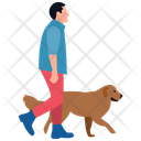 Pet Walk Nature Walk Puppy Walk Icon