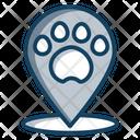 Pet Zone Pet Area Pet Location Icon