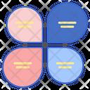 Petal Venn Icon