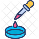 Petri dish analysis Icon